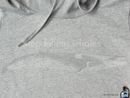 Woolite Print Ad -  Stop killing whales
