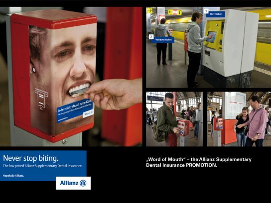 Allianz Ambient Ad -  Word of Mouth