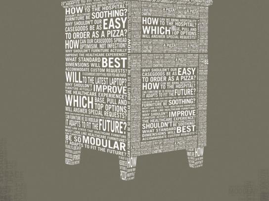Nurture by Steelcase Print Ad -  Word Furniture, Casegoods