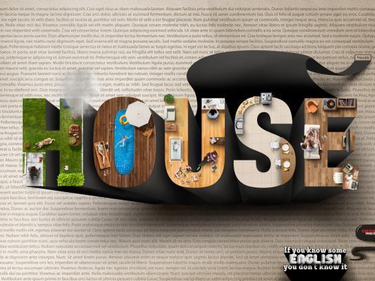 Cultura Inglesa Print Ad -  House