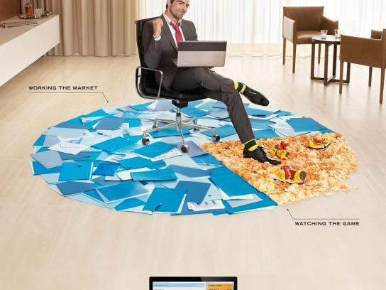 Toshiba Print Ad -  Working