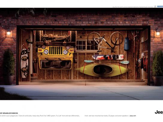 Jeep Print Ad -  Garage