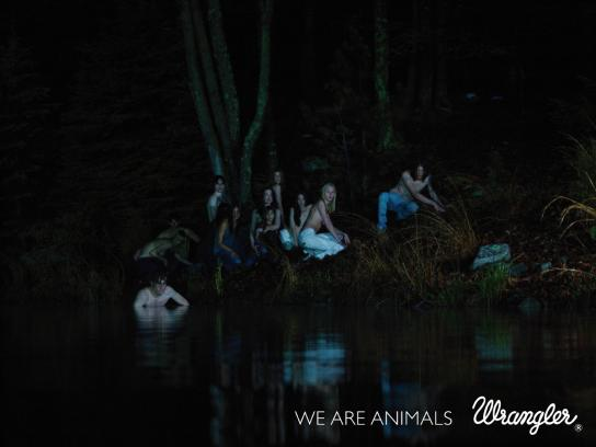 Wrangler Print Ad -  We are animals, 1