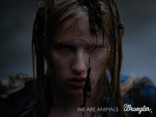 Wrangler Print Ad -  We are animals, 2