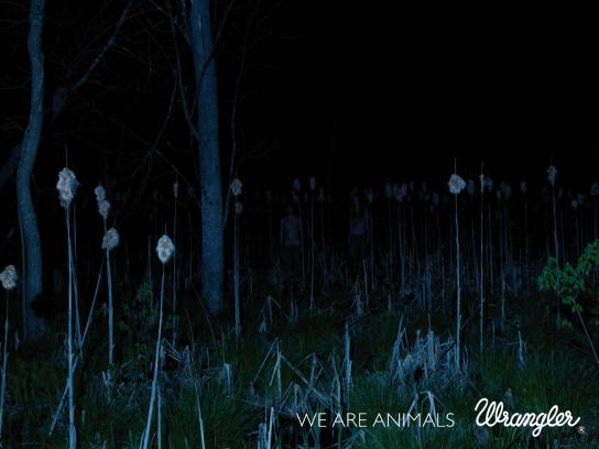 Wrangler Print Ad -  We are animals, 3