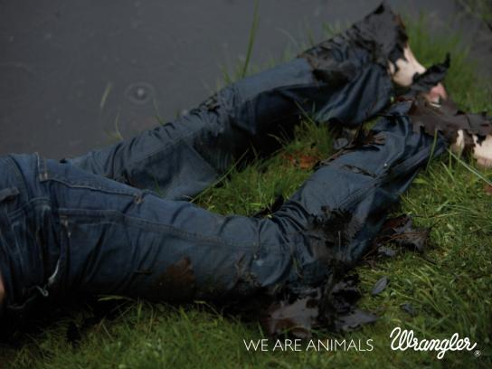 Wrangler Print Ad -  We are animals, 5