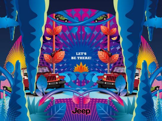 Jeep Print Ad -  Cave
