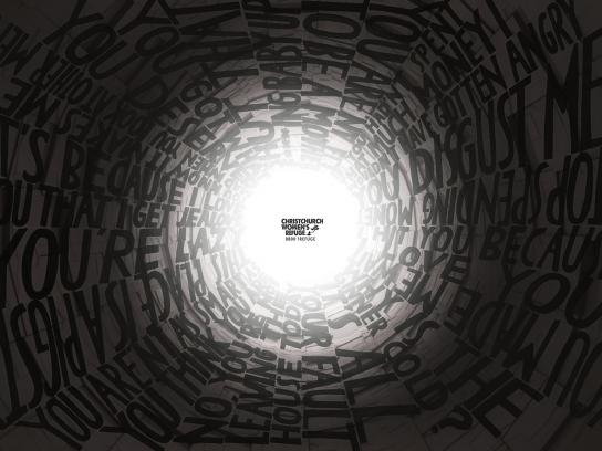 Christchurch Women's Refuge Print Ad -  Tunnels, 1