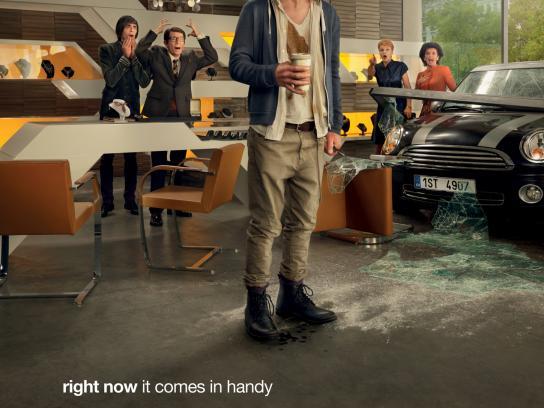 Wustenrot Print Ad -  Crash