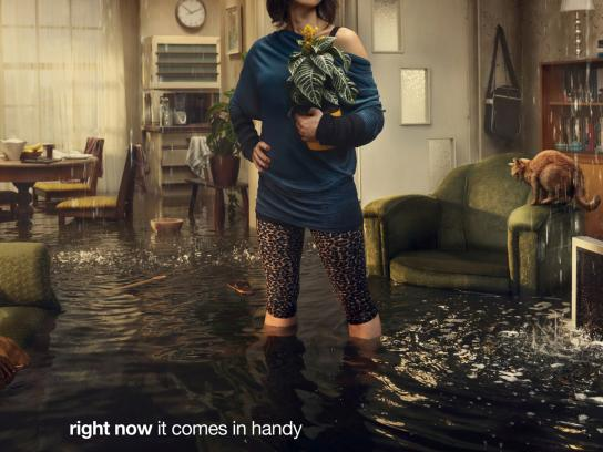 Wustenrot Print Ad -  Flood