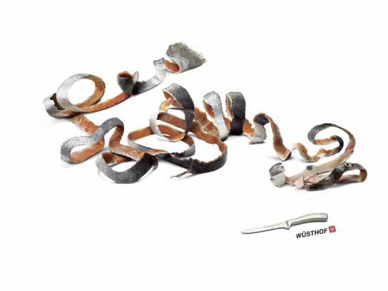 Wusthof Print Ad -  Fish
