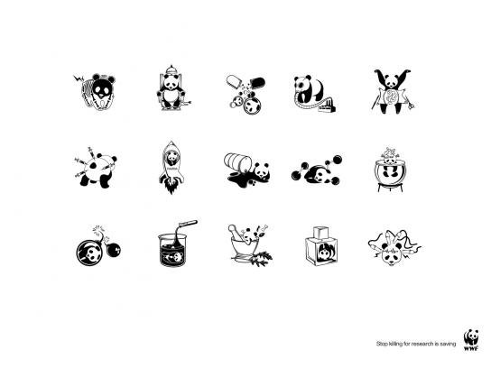WWF Print Ad -  Experiment