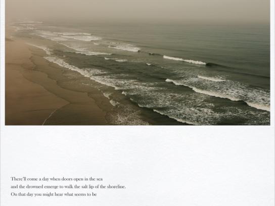 WWF Print Ad -  Ocean