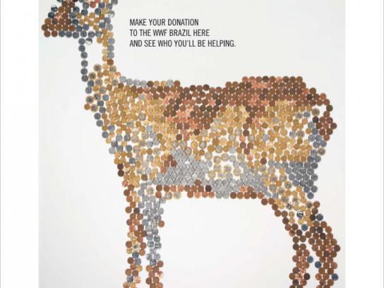 WWF Ambient Ad -  Deer