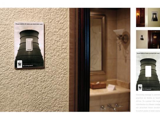 WWF Print Ad -  Switch