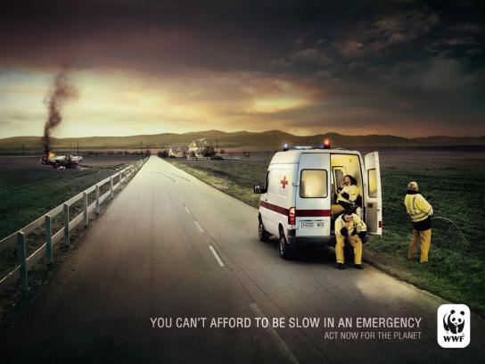 WWF Print Ad -  Ambulance