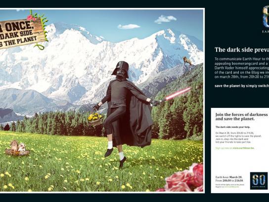 WWF Direct Ad -  Darth Fladder