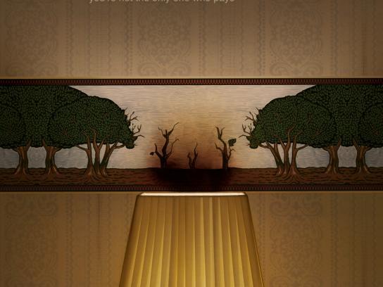 WWF Print Ad -  Trees