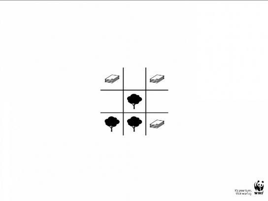 WWF Print Ad -  Tree