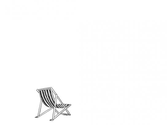 X Lotto Print Ad -  Chair