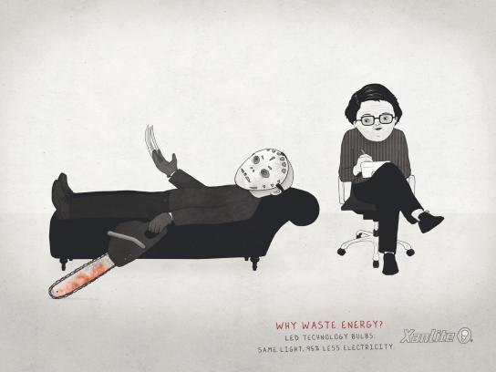 Xanlite Print Ad -  Psychiatrist