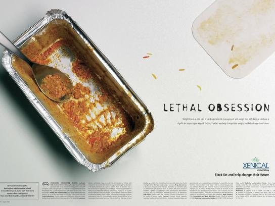 Xenical Print Ad -  Pasta