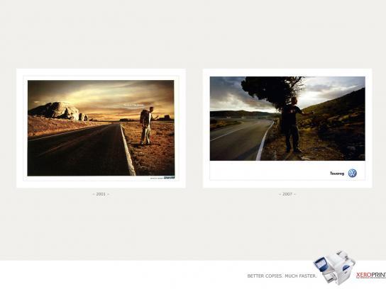 Xeroprint Print Ad -  Car