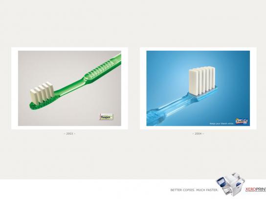 Xeroprint Print Ad -  Gum