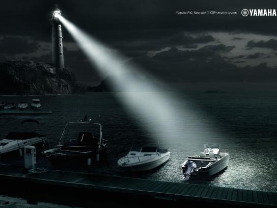 Yamaha Print Ad -  Lighthouse