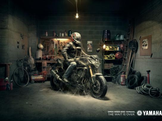 Yamaha Print Ad -  Open Week-End