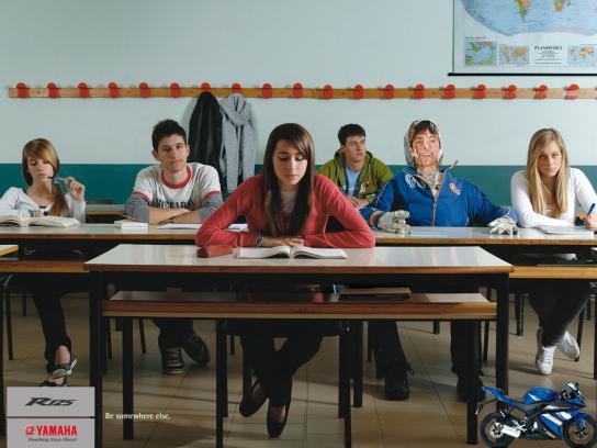 Yamaha Print Ad -  Classroom