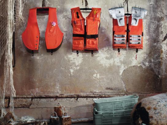 Yamaha Print Ad -  Life vests