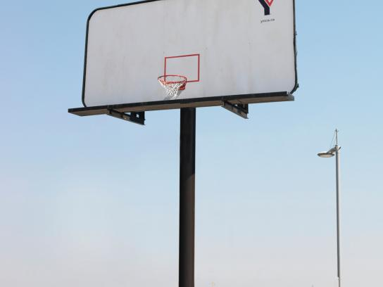 YMCA Outdoor Ad -  Basketball billboard