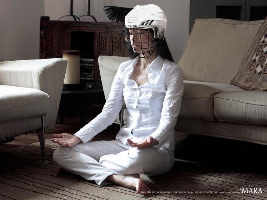 Al Mar'a Print Ad -  Yoga