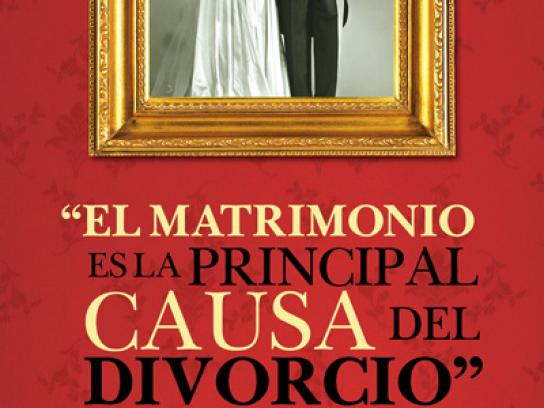 Dewar's Print Ad -  Marriage