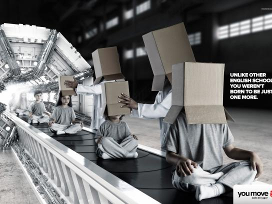 You Move Print Ad -  Factory