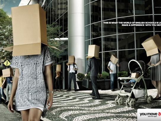 You Move Print Ad -  Street