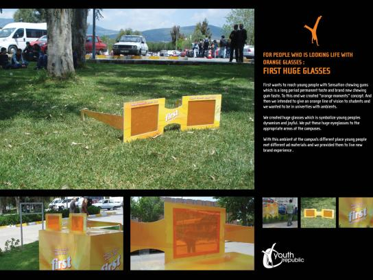 Cadbury Outdoor Ad -  Orange moments