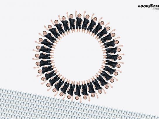Goodyear Print Ad -  Circles, Baby