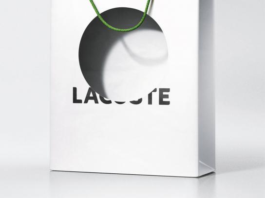 LG Print Ad -  Lacoste bag