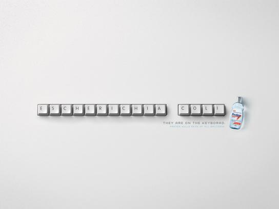 Protex Print Ad -  Keyboard