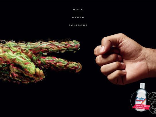 Protex Print Ad -  Rock