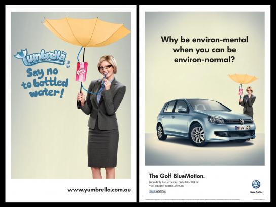 Volkswagen Print Ad -  Yumbrella