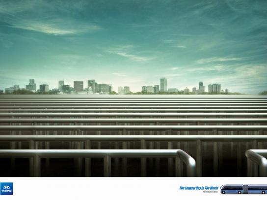 Yutong Print Ad -  Super platform