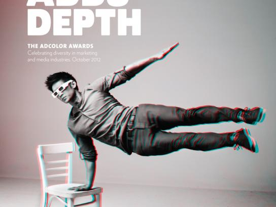 ADCOLOR Awards Print Ad -  Color Adds Depth, Shum