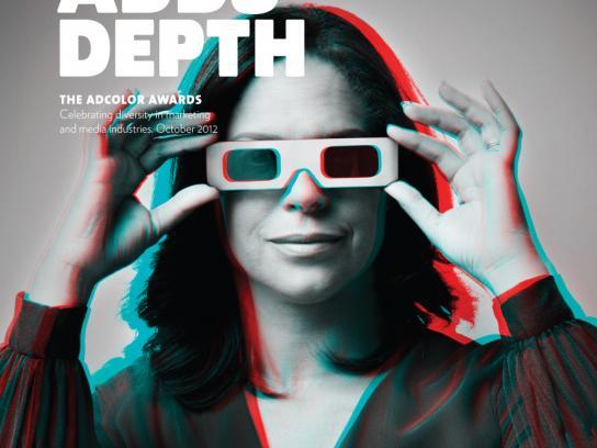 ADCOLOR Awards Print Ad -  Color Adds Depth, Soledad