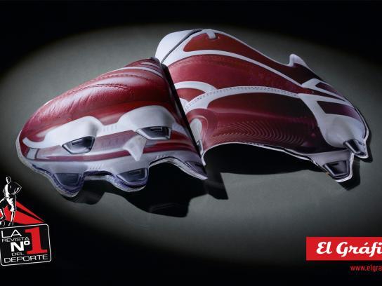 El Gráfico Print Ad -  Shoes