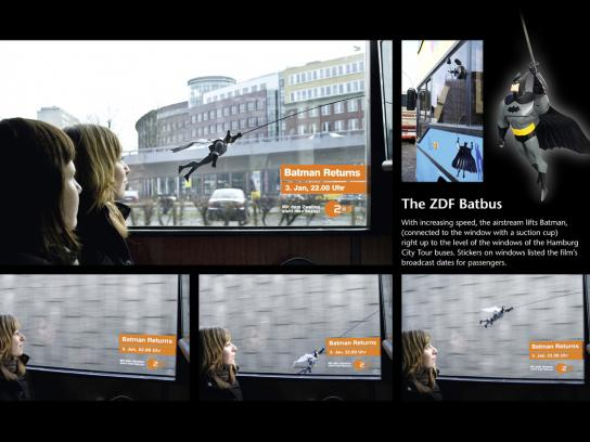 ZDF Ambient Ad -  Batbus