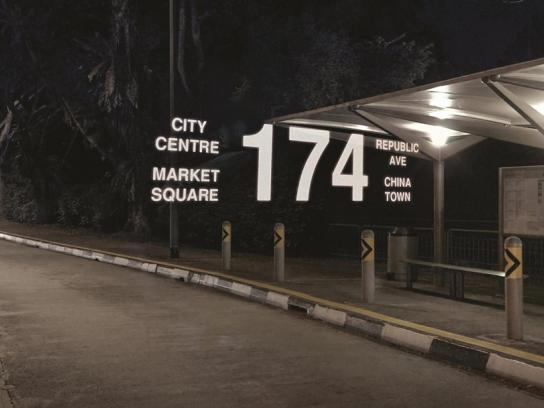 Zeiss Print Ad -  Bus stop