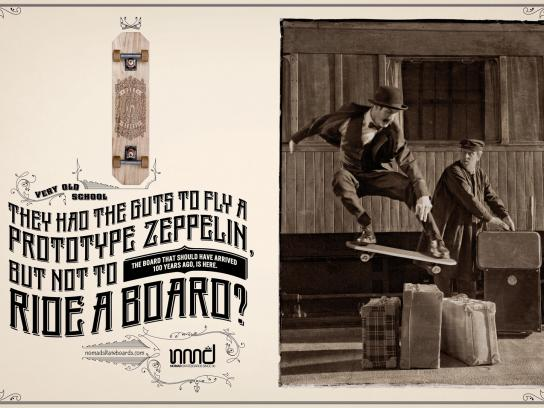 Nomad Print Ad -  Zeppelin